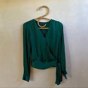 Emerald Silk Top
